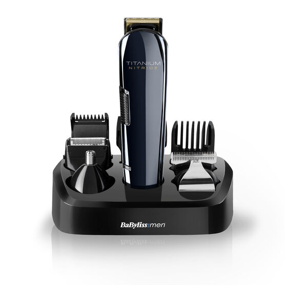 Titanium Nitride Face & Body Multi Groomer Kit Image 1