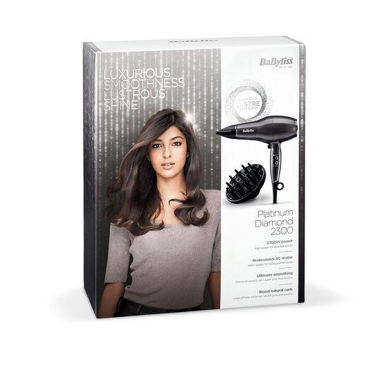 BaByliss Platinum Diamond 2300 AC Hair Dryer - Image 6