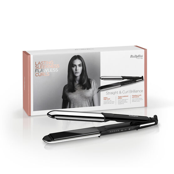 STRAIGHT & CURL BRILLIANCE STRAIGHTENER Image 2