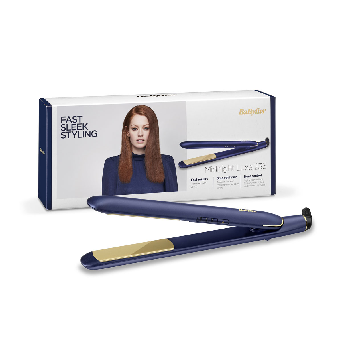 Midnight Luxe 235 Hair Straightener