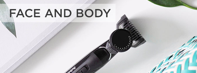 Face and Body Grooming Tools - Main Image